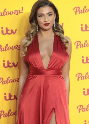 Zara McDermott - ITV Palooza in London