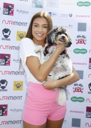 Zara McDermott - Pup Aid 2018 in London