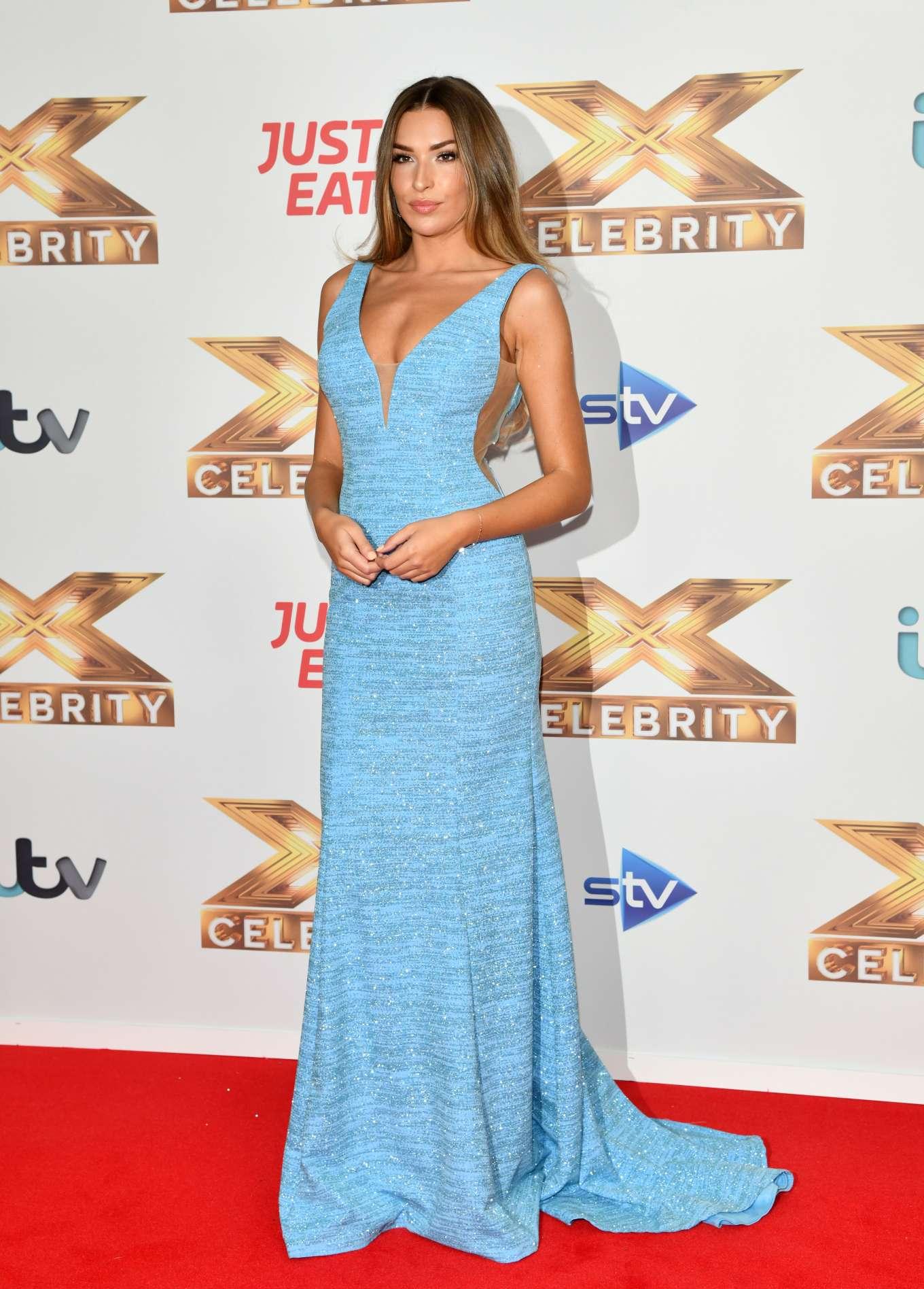 Zara McDermott 2019 : Zara McDermott – X Factor Celebrity Photocall-06
