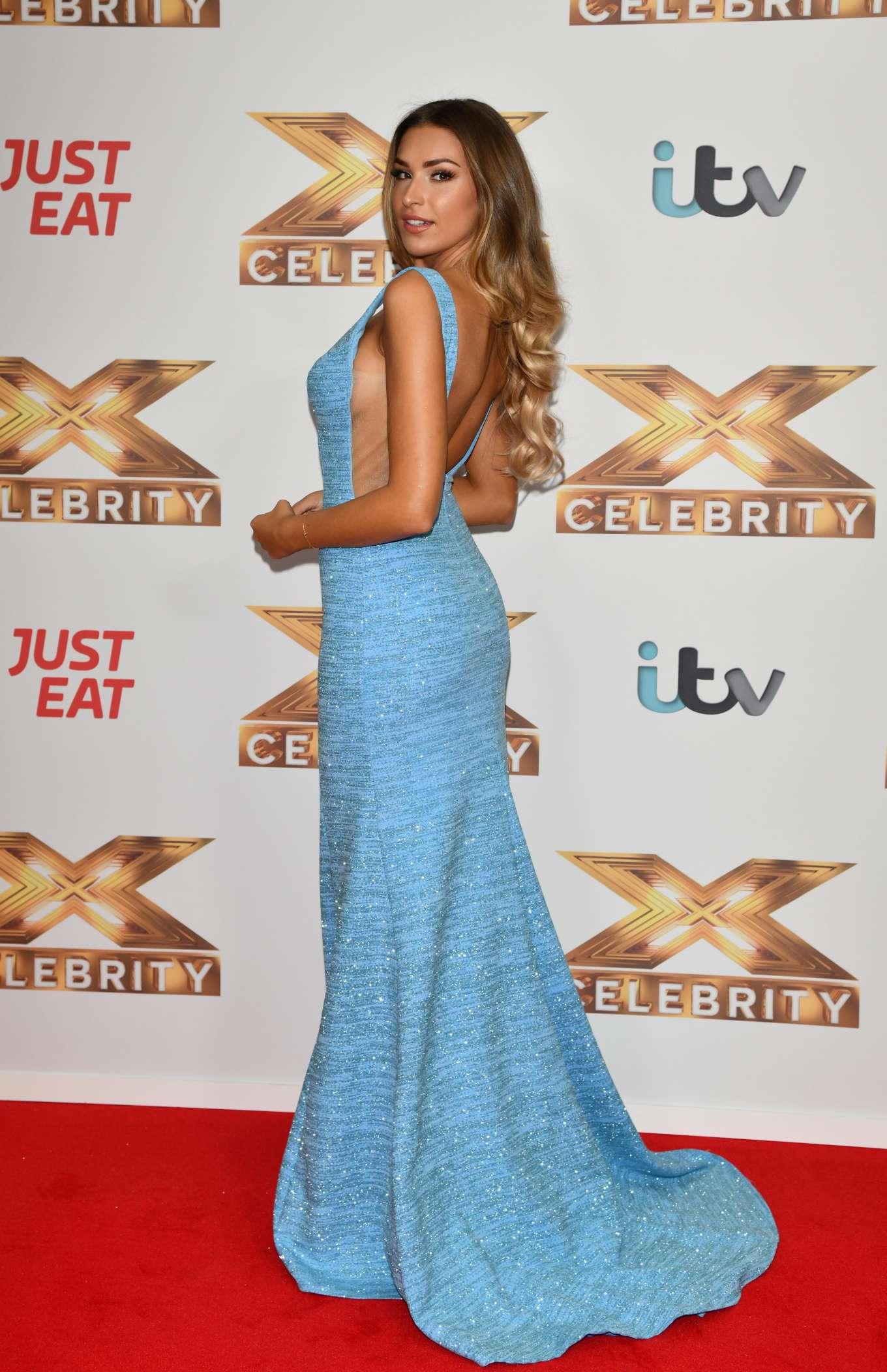 Zara McDermott 2019 : Zara McDermott – X Factor Celebrity Photocall-07