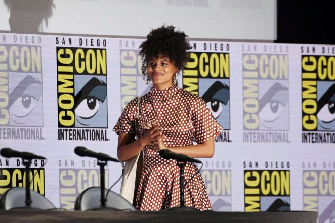 Zazie Beetz – 'Deadpool' Panel at 2018 Comic-Con in San Diego
