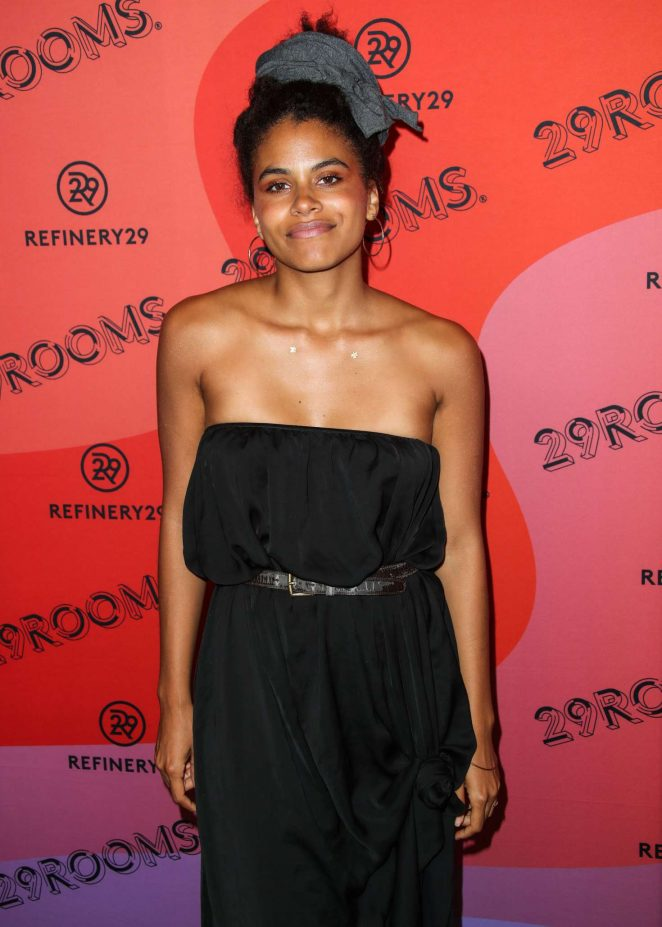 Zazie Beetz – Refinery29 29Rooms New York 2018 – Expand Your Reality Opening Party in Brooklyn