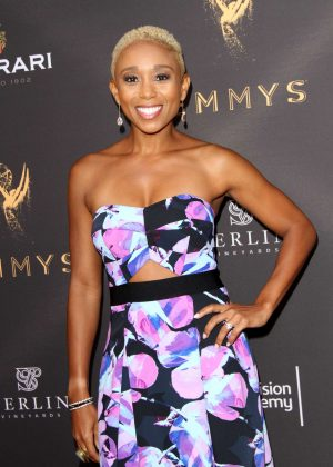 Zee James - Emmys Cocktail Reception in Los Angeles