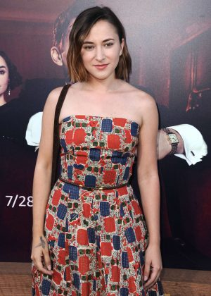 Zelda Williams - 'The Last Tycoon' TV show Premiere in Los Angeles