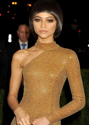 Zendaya - 2016 Met Gala in NYC