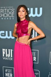 Zendaya - 2020 Critics Choice Awards in Santa Monica