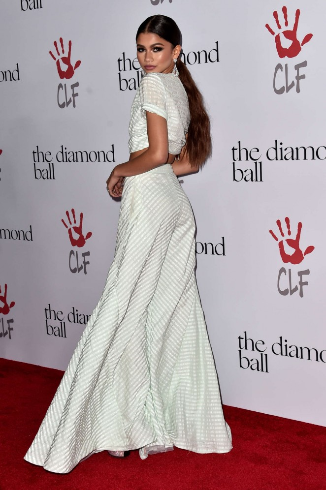 Zendaya: 2nd Annual Diamond Ball -13