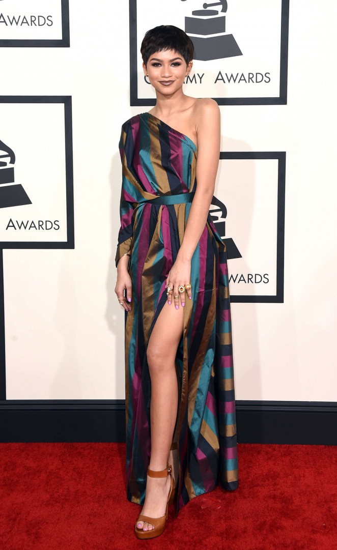 Zendaya - GRAMMY Awards 2015 in Los Angeles