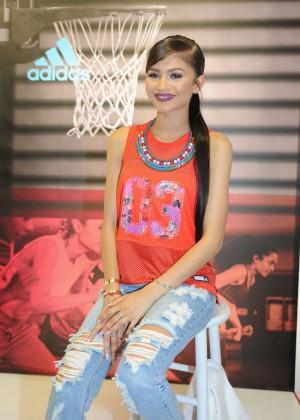 Zendaya - Adidas Unveils The Adigirl Collection in NYC