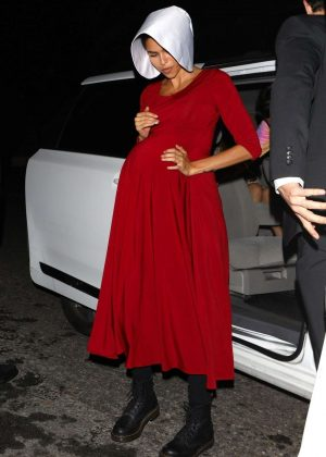 Zendaya - Arrives at Just Jared's 7th Annual Halloween Party in LA