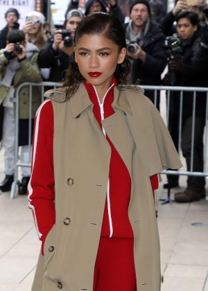 Zendaya - Arrives at the Michael Kors Show in NYC