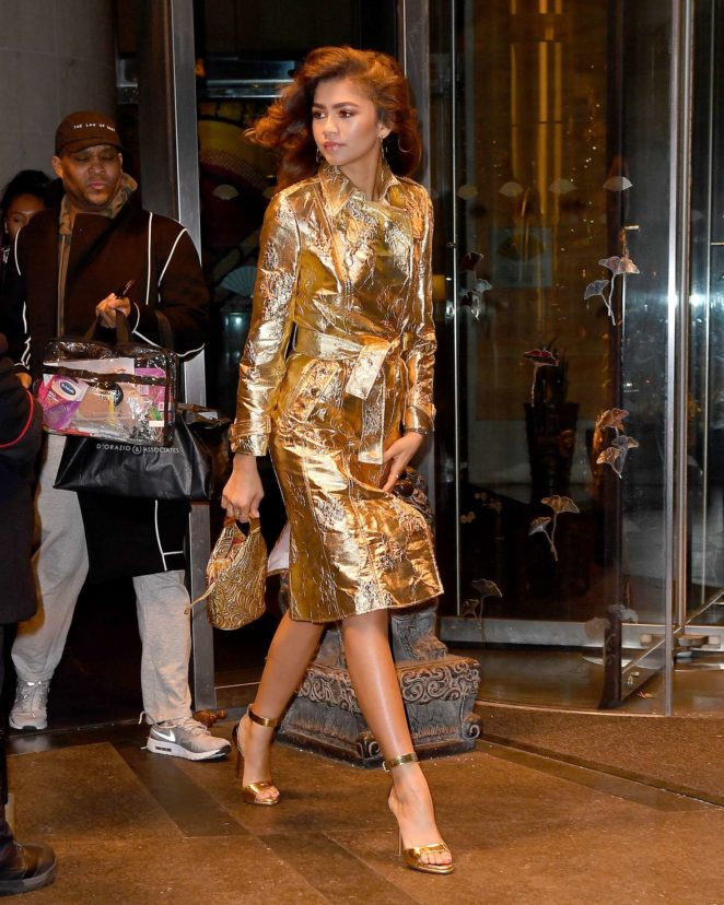 Zendaya - Arrives at the 'Today Show' in New York City