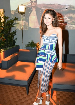 Zendaya - CFDA Vogue Fashion Fund Welcome Cocktails in LA