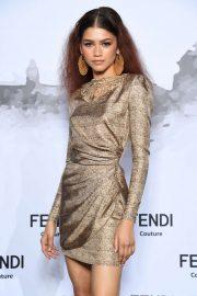 Zendaya - Cocktail at Fendi Couture Fall Winter 2019-2020 - Rome