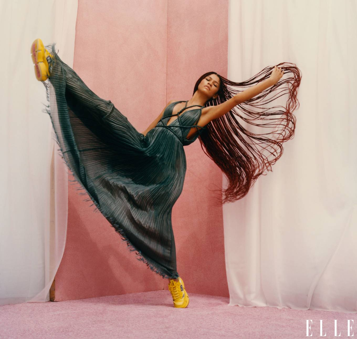 Zendaya Coleman - Elle Magazine (December 2020 - January 2021 issue)