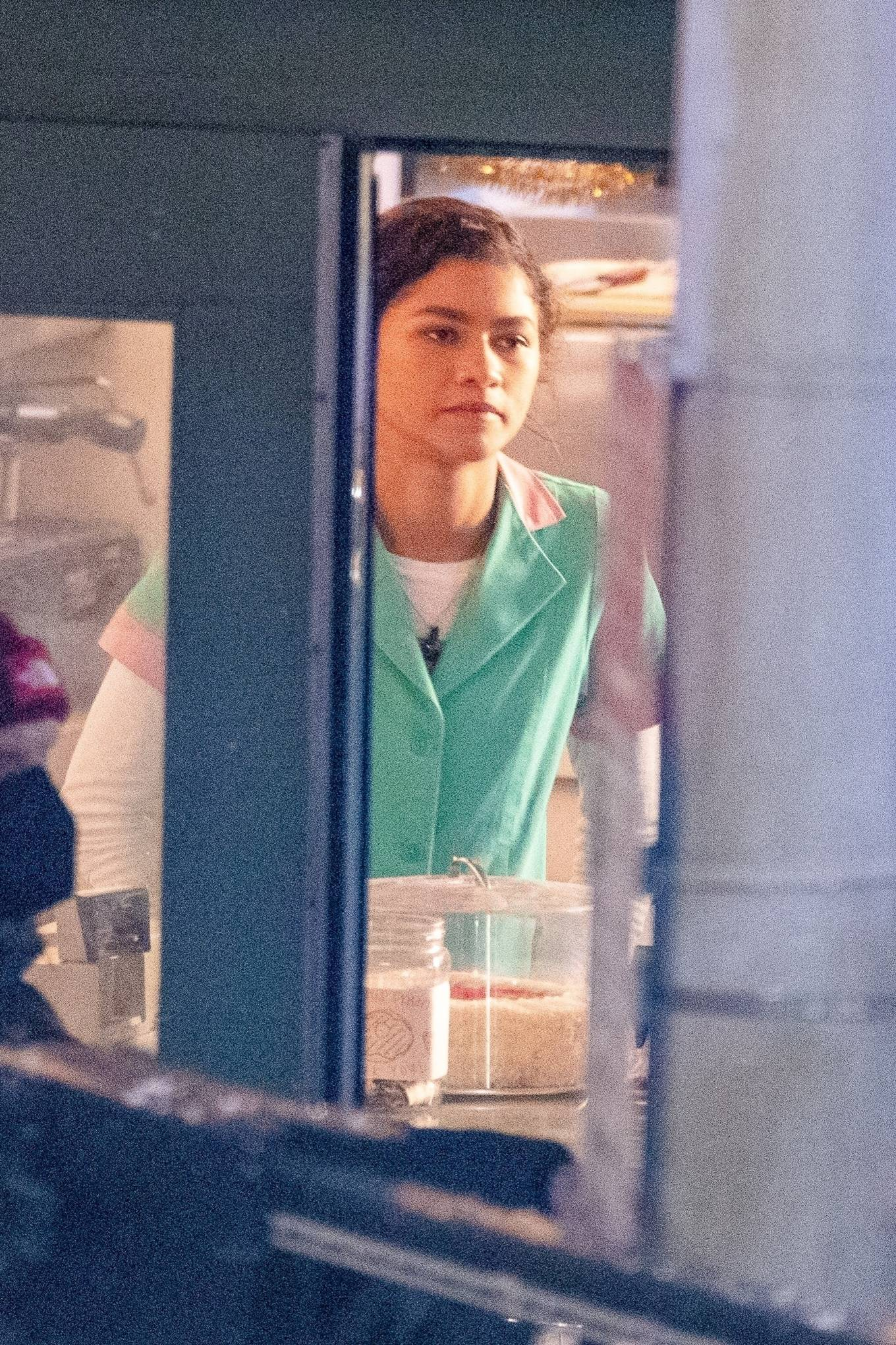 Zendaya Coleman - Filming latest Spider-Man movie in Atlanta