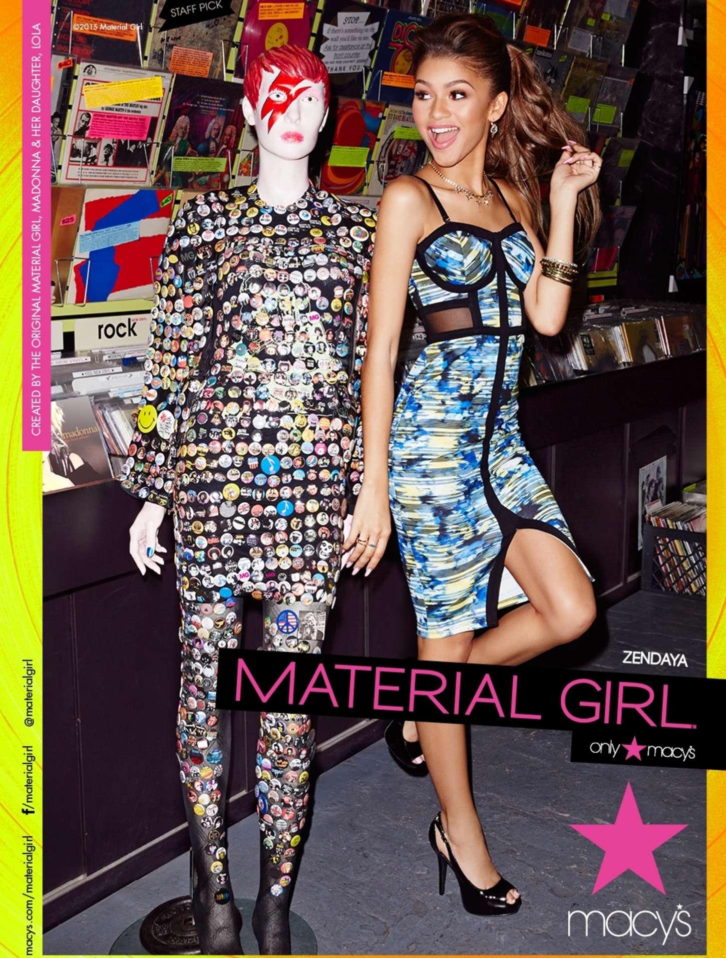 Zendaya Coleman 2015 : Zendaya Coleman: Material Girl 2015 Campaign -02