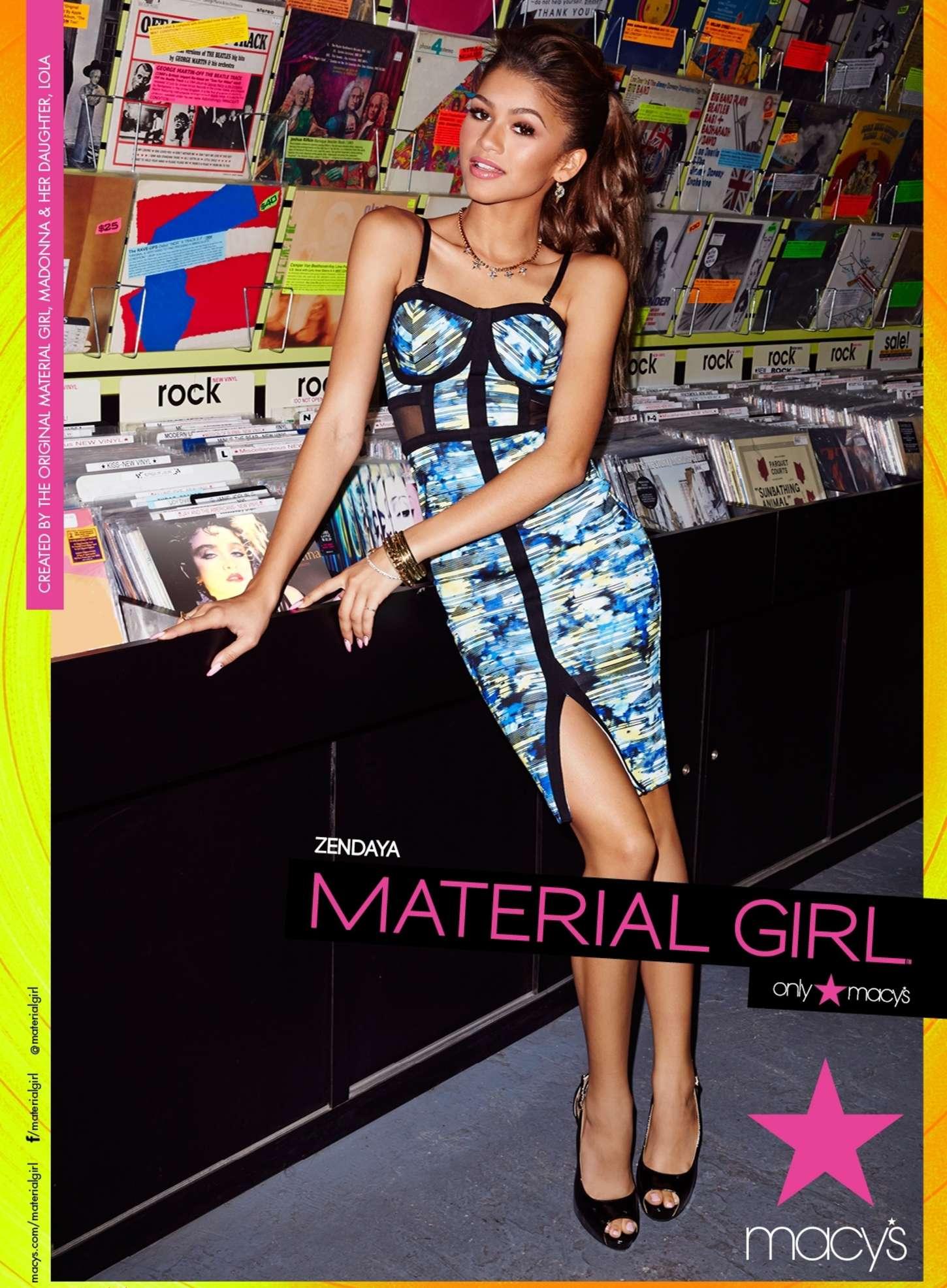 Zendaya Coleman 2015 : Zendaya Coleman: Material Girl 2015 Campaign -07