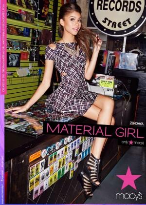 Zendaya Coleman - Material Girl 2015 Spring Campaign Photoshoot
