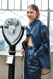 Zendaya Coleman - 'Spider-Man: Far From Home' at the Empire State Building in NYC