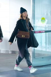 Zendaya Coleman - Spotted at JFK airportin New York
