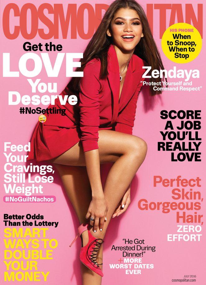 Zendaya - Cosmopolitan Magazine Cover (July 2016)