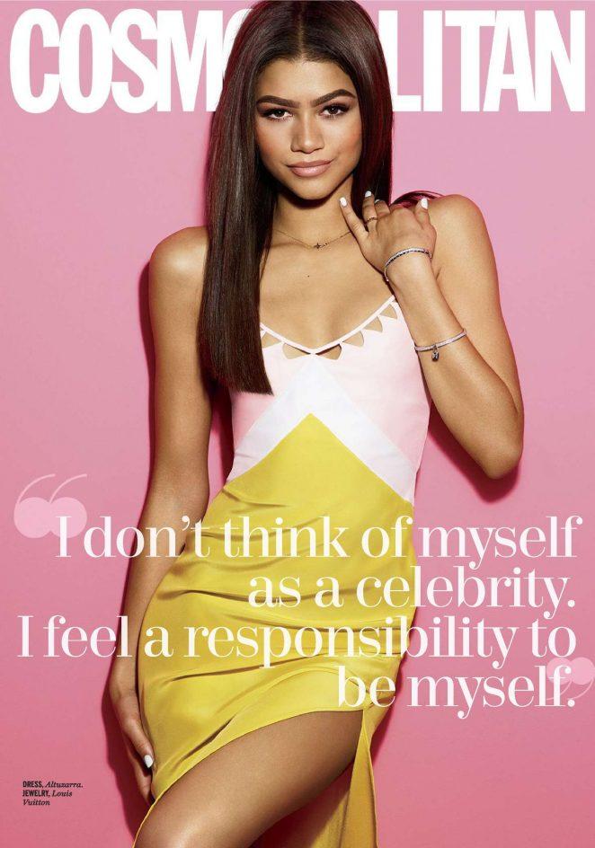 Zendaya - Cosmopolitan Magazine (July 2016)