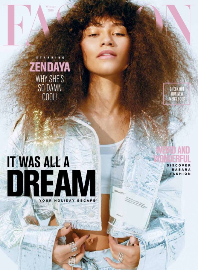 Zendaya - Fashion Magazine (November 2017)