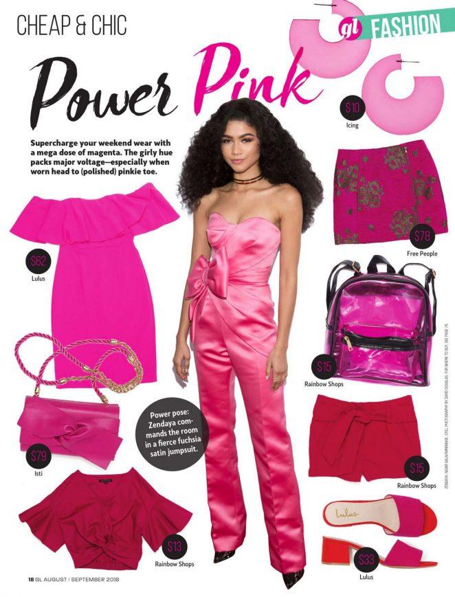 Zendaya - Girls' Life Magazine (August/September 2018)