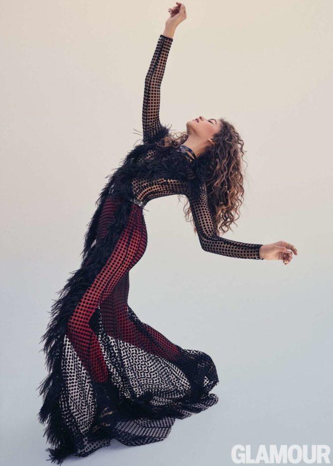 Zendaya - Glamour Magazine (November 2017)