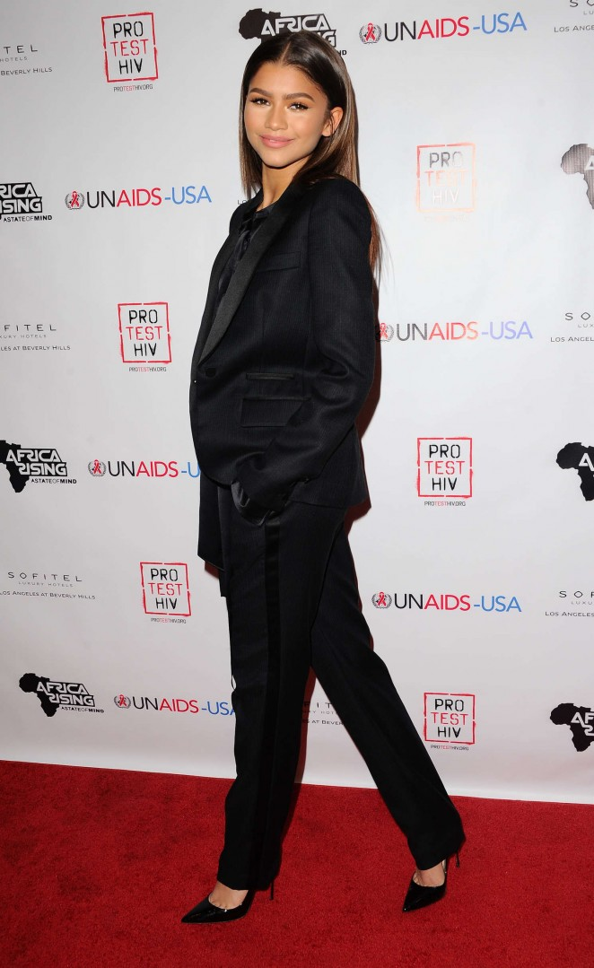 Zendaya: Inaugural World AIDS Day Benefit -02