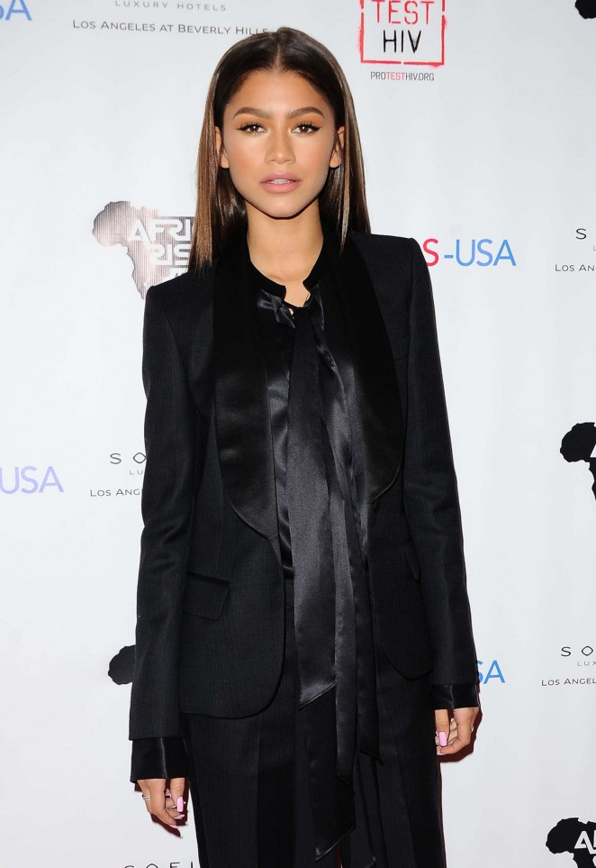 Zendaya - Inaugural World AIDS Day Benefit in Los Angeles