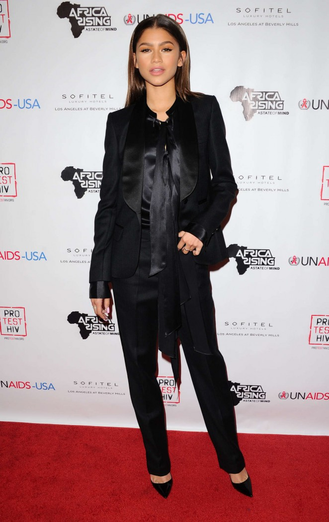 Zendaya: Inaugural World AIDS Day Benefit -19