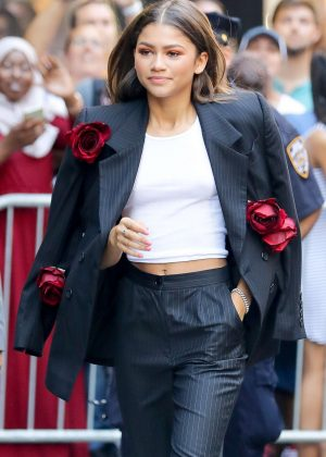 Zendaya - Leaving 'Good Morning America' in NYC