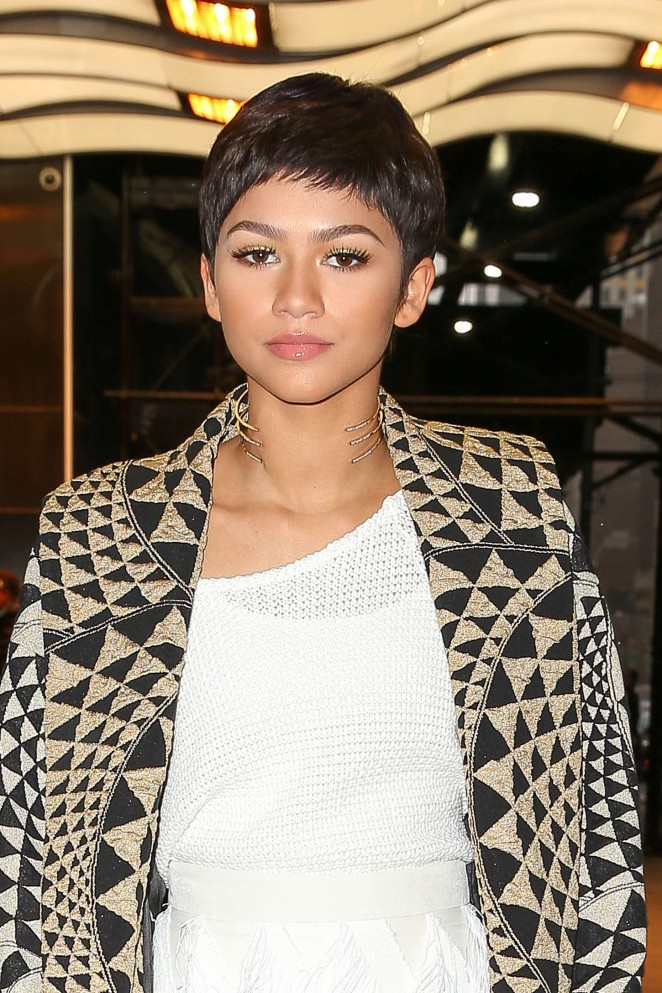 Zendaya - Leaving her hotel in NYC