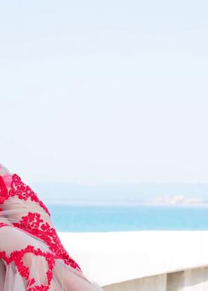 Zendaya: Modeliste 2015 (Behind the Scenes) -11