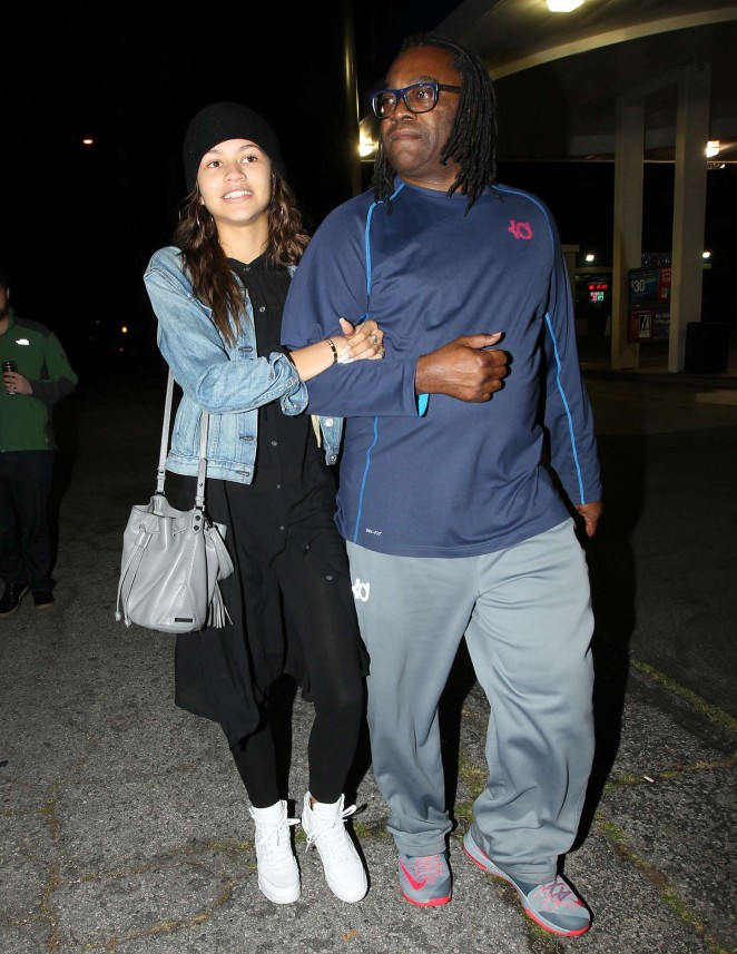 Zendaya Night Out in Hollywood