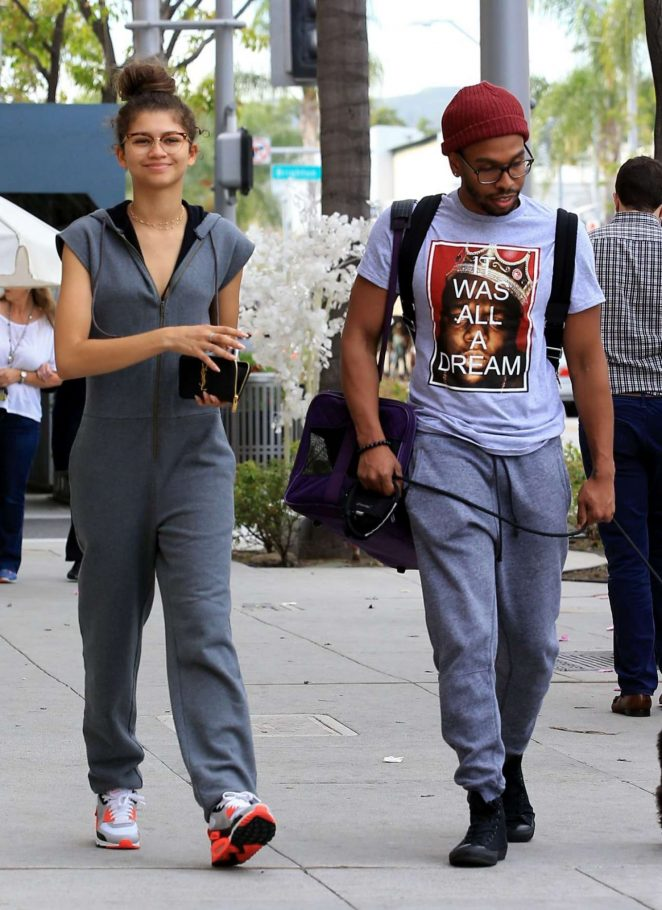 Zendaya Out and about in Los Angeles