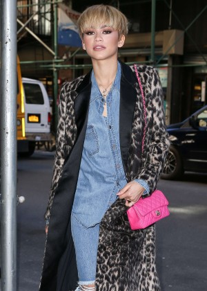Zendaya - Out and about in NYC
