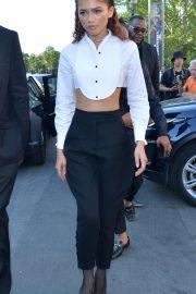 Zendaya - Out and about in Paris during Paris Fashion Week