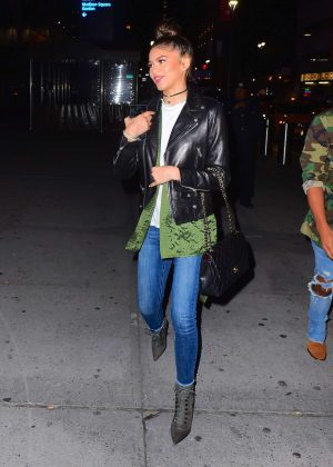 Zendaya out in New York