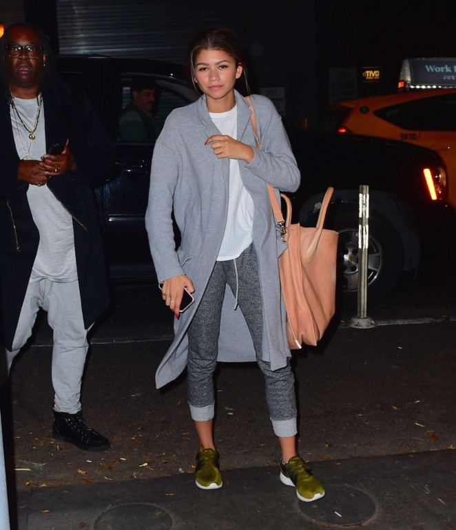 Zendaya in Jeans Out in NYC