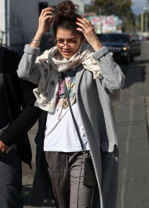 Zendaya out in West Hollywood