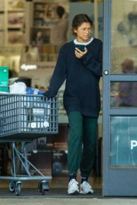 Zendaya - Shopping with her brother in Los Angeles