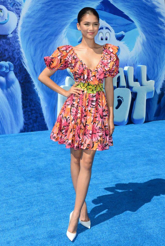 Zendaya – 'Smallfoot' Premiere in Los Angeles
