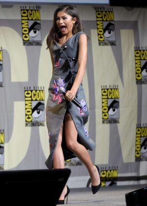 Zendaya - 'Spider-Man: Homecoming' Panel at Comic-con 2016 in San Diego
