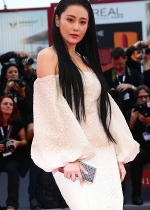 Zhang Yan - Opening Ceremony and Premiere of 'Everest' at 72nd Venice Film Festival