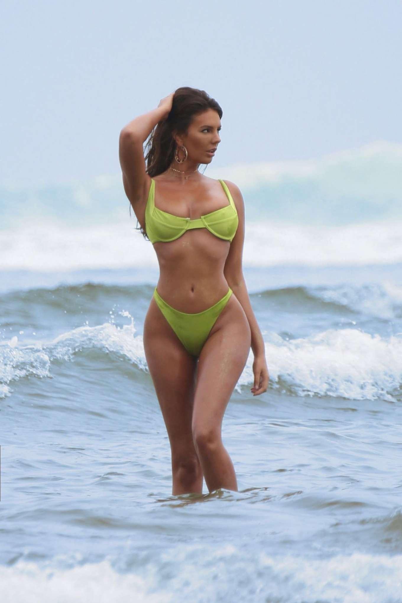 Zita Vass in Bikini on a Photoshoot in Malibu