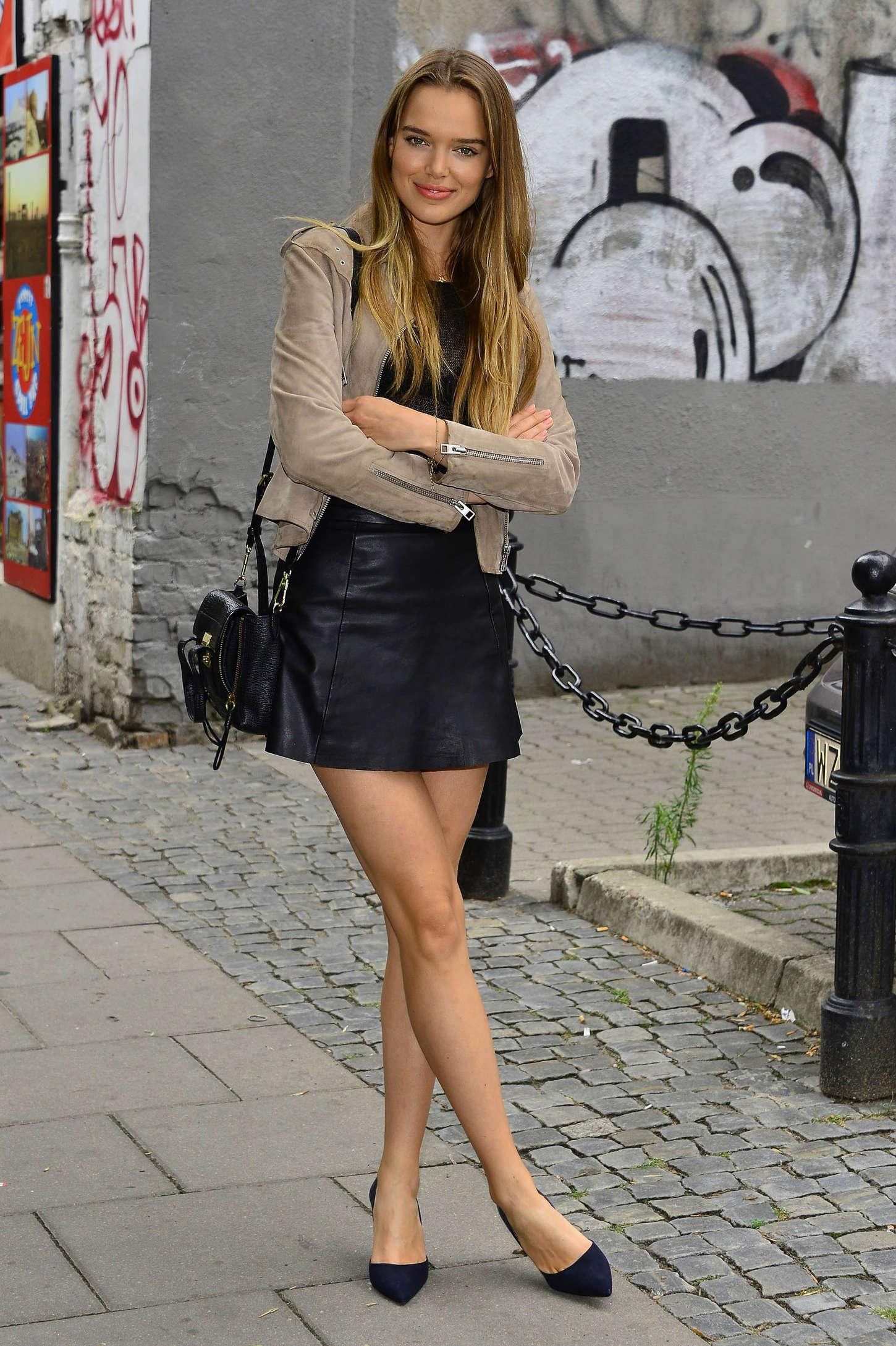 Zo Nowak in Leather Mi... Jennifer Lawrence Instagram Pictures