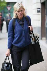 Zoe Ball at BBC Radio Two Studios in London
